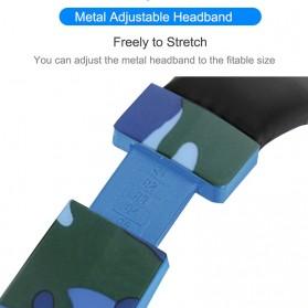 SOYTO Gaming Headphone Headset LED with Mic - SY830MV - Blue - 9