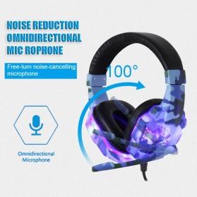 SOYTO Gaming Headphone Headset LED with Mic - SY830MV - Blue - 10