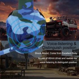 SOYTO Gaming Headphone Headset LED with Mic - SY830MV - Blue - 4