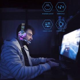 SOYTO Gaming Headphone Headset LED with Mic - SY830MV - Blue - 6