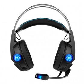 KOTION YOTMS Gaming Headphone Headset Super Bass RGB LED with Mic - Y1 7.1 - Black - 2