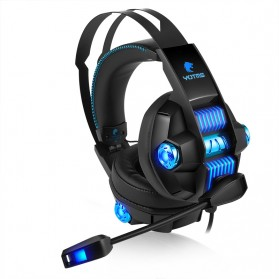 KOTION YOTMS Gaming Headphone Headset Super Bass RGB LED with Mic - Y1 7.1 - Black - 3