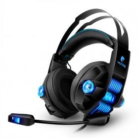 KOTION YOTMS Gaming Headphone Headset Super Bass RGB LED with Mic - Y1 7.1 - Black - 4