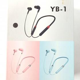 Kerokuru Sport Wireless Bluetooth Earphone Stereo dengan Mic - YB-1 - Black - 4