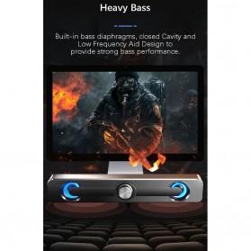 SADA Bluetooth Soundbar Home Theater HiFi Stereo Heavy Bass - V-111 - Black - 10