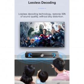 SADA Bluetooth Soundbar Home Theater HiFi Stereo Heavy Bass - V-111 - Black - 12