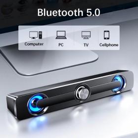 SADA Bluetooth Soundbar Home Theater HiFi Stereo Heavy Bass - V-111 - Black - 2