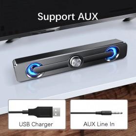 SADA Bluetooth Soundbar Home Theater HiFi Stereo Heavy Bass - V-111 - Black - 4