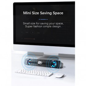 SADA Bluetooth Soundbar Home Theater HiFi Stereo Heavy Bass - V-111 - Black - 8