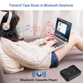 Tonivent Player Kaset Tape Walkman Bluetooth FM Radio - TON007B - Black - 3