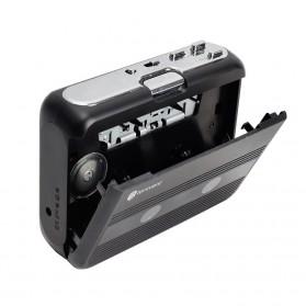 Tonivent Player Kaset Tape Walkman Bluetooth FM Radio - TON007B - Black - 4