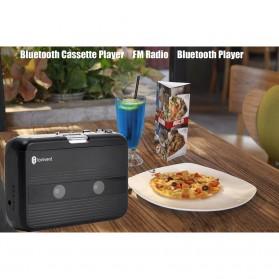 Tonivent Player Kaset Tape Walkman Bluetooth FM Radio - TON007B - Black - 7