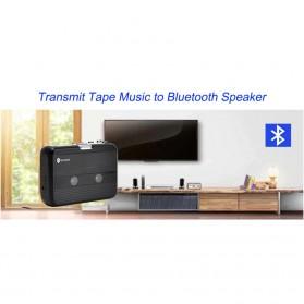 Tonivent Player Kaset Tape Walkman Bluetooth FM Radio - TON007B - Black - 8