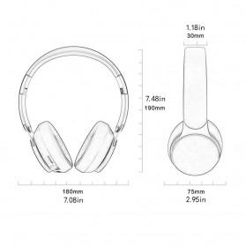 ONLENY Folding Wireless Headset Headphone Bluetooth 5.0 - 07S - Black - 6