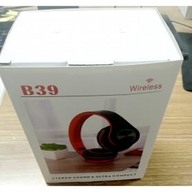 Centechia Wireless Headset Headphone Bluetooth 5.0 with Mic- B39 - Black/Red - 11