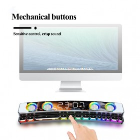 Niye Bluetooth Gaming Soundbar Home Theater HiFi 3D Surround - SH39 - Black - 6