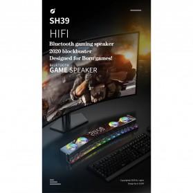 Niye Bluetooth Gaming Soundbar Home Theater HiFi 3D Surround - SH39 - Black - 7