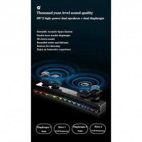 Niye Bluetooth Gaming Soundbar Home Theater HiFi 3D Surround - SH39 - Black - 10