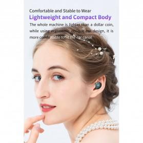 Robotsky TWS Sport Earphone True Wireless Bluetooth 5.0 with Powerbank Charging Dock 2000mAh - M17 - Black - 7