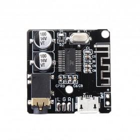 ERILLES Bluetooth Audio Receiver 5.0 Lossless Decoder Board 3.7-5V - VHM-314 - Black - 7