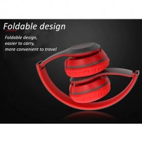 SHOUMI Bluetooth Wireless Headphone Headset Foldable - P47 - Black - 5