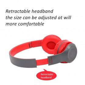 SHOUMI Bluetooth Wireless Headphone Headset Foldable - P47 - Black - 7