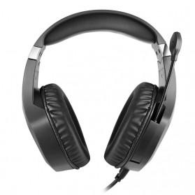 ERXUNG Gaming Headphone Headset Super Bass RGB LED with Mic - J20 - Black - 12