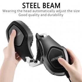 ERXUNG Gaming Headphone Headset Super Bass RGB LED with Mic - J20 - Black - 5
