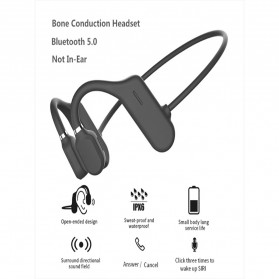 ZUIDID Sport Wireless Earphone Bluetooth 5.0 with Mic - DYY-1 - Black - 10