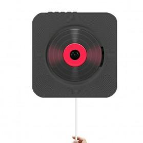 Tonivent CD Player Pemutar Kaset Bluetooth FM Radio - KC-808 - Black