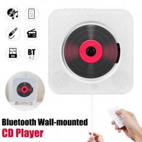 Tonivent CD Player Pemutar Kaset Bluetooth FM Radio - KC-808 - Black - 2