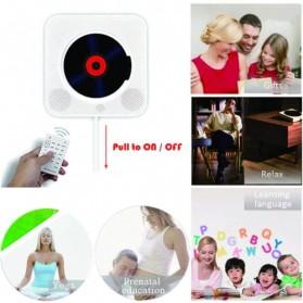 Tonivent CD Player Pemutar Kaset Bluetooth FM Radio - KC-808 - Black - 4
