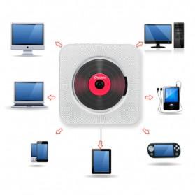 Tonivent CD Player Pemutar Kaset Bluetooth FM Radio - KC-808 - Black - 5