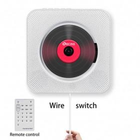 Tonivent CD Player Pemutar Kaset Bluetooth FM Radio - KC-808 - Black - 9