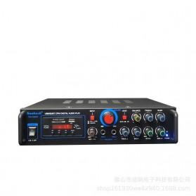 KYYSLB Audio Amplifier Mobil Car Bluetooth 5.0 Stereo 2 Channel 400W - TAV-368T - Black - 4
