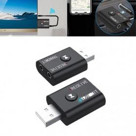 DigRepair USB Dongle Bluetooth 5.0 Transmitter Receiver Audio Adapter -YET-TR6 - Black