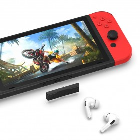 Rondaful USB Dongle Audio Bluetooth 5.0 Transmitter Adapter for Nintendo Switch - BLS-TX20 - Black