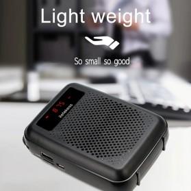 RETEKESS Megaphone Mikrofon Penguat Suara Audio Tourguide Speaker 12W - PR16R - Black - 3