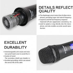 G-MARK Audio Console Karaoke KTV Mixer 2 Channel with 2 Wireless Mic - G210V - Black - 5