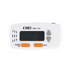 ENO Metronome Digital Rhythm Device Guitar Clip On - EM-11A - White