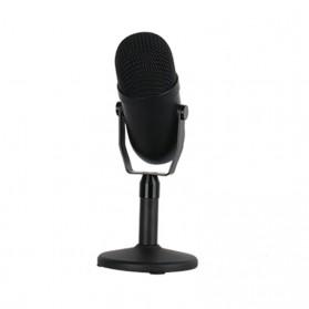 JIANSU Microphone Condenser USB Mikrofon Studio with Stand - YJ71 - Black