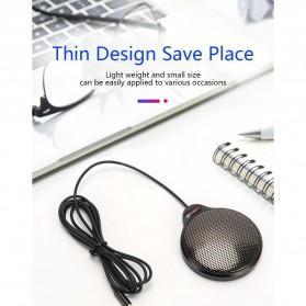 RECORDIO 360 Degree Microphone Table Conference Zoom Meeting Studio - ZY-105C - Black - 6