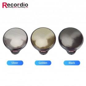 RECORDIO 360 Degree Microphone Table Conference Zoom Meeting Studio - ZY-105C - Black - 5