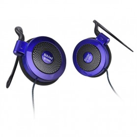 Shini Earhook Clip-on Headphone Sporty - S520 - Black - 2