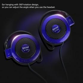 Shini Earhook Clip-on Headphone Sporty - S520 - Black - 3