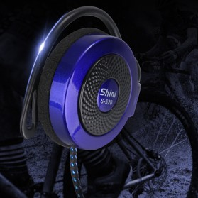 Shini Earhook Clip-on Headphone Sporty - S520 - Black - 4