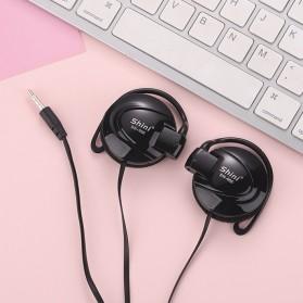 Shini Earhook Clip-on Headphone Sporty - SN-666 - Black - 2