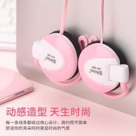 Shini Earhook Clip-on Headphone Sporty - SN-666 - Black - 4