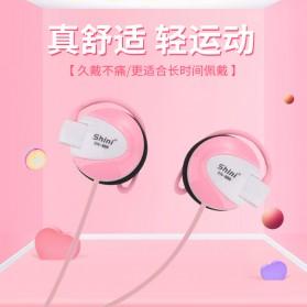 Shini Earhook Clip-on Headphone Sporty - SN-666 - Black - 6