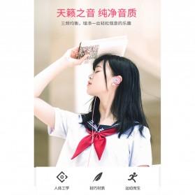 Shini Earhook Clip-on Headphone Sporty - SN-666 - Black - 8
